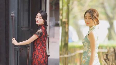 东方古典之美!女人穿旗袍可以有多美?复古性感惊艳众人!