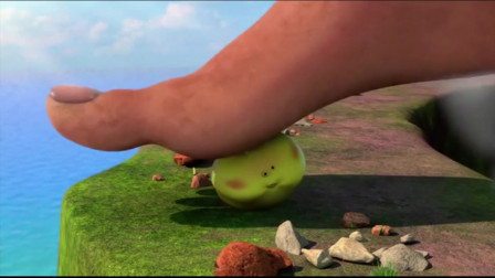 爆笑虫子:看沙雕有多沙雕,差点被鲨鱼扎中菊部
