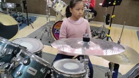 蓬莱架子鼓  《吸 引》  李若妍  于老师权威架子鼓教学  课堂激情演奏!