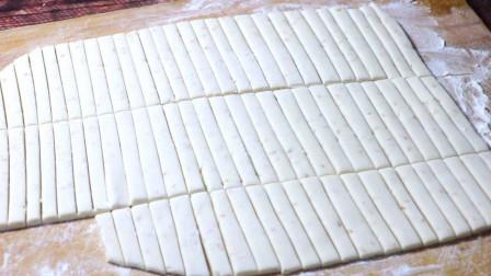 糯米粉这样做太好吃了,记住配方和步骤,外酥里糯,比南瓜饼好吃