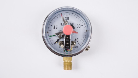 怎么用电接点压力表控制水泵?一张实物接线图,一看就懂