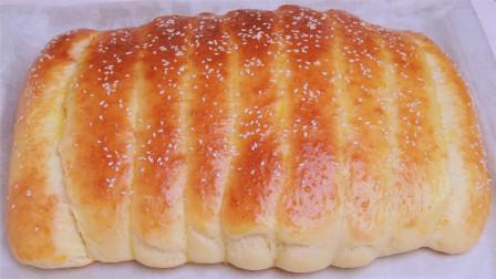 真正懒人面包的做法,不用揉面,更不用揉出膜,比外面买的还好吃