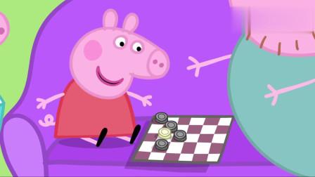 小猪佩奇:嘤嘤嘤,乔治最喜欢用恐龙先生吓唬佩奇了!