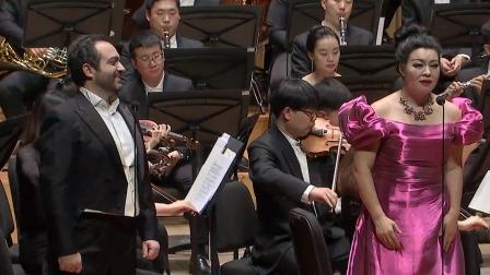 和慧 詹卢卡·德拉诺瓦合唱《夜幕低垂》,声声凄美唱响夜幕哀歌 和慧歌剧之夜 20191230