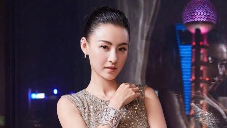 张柏芝疑承认新恋情韩庚婚前晚宴新娘吊带红裙亮相