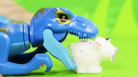 亲宝恐龙世界乐园儿歌:快乐的小恐龙玩具版 小朋友来看快乐的小恐龙跳舞吧