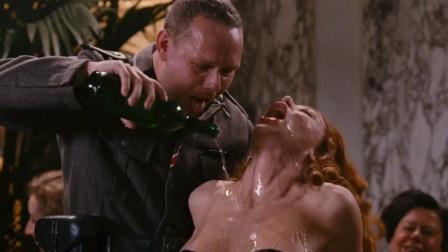 一部国外伦理电影,女特工为了讨好敌方军官任由他们摆布