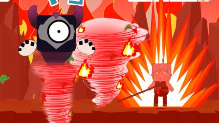 叶小龙用火焰龙卷风能打败萌眼咻咻吗