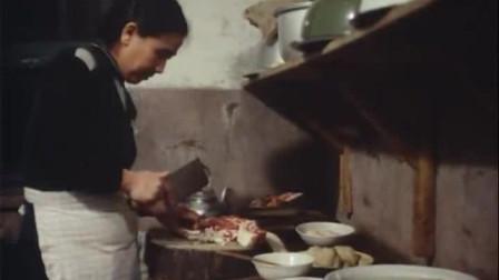 历史回放  1966年沈阳铁西区工人家庭的厨房