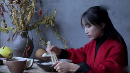 李子柒:熬个豆浆再蒸几块紫薯米糕,再忙都要好好吃早饭啊