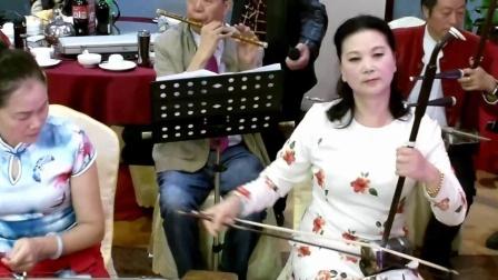 广西桂林市国家级非物质文化遗产传承基地艺术团在文泰酒楼开业演出