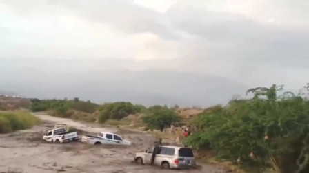 洪水突然来袭,丝毫没给他们反应的机会!悲剧了