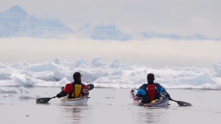"""探险队误入海面碎冰层,瞬间失去方向,队友大喊""""不妙"""""""