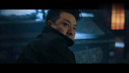 电影片段:日本黑龙会会长,大战八路军特工,最后被一刀斩!