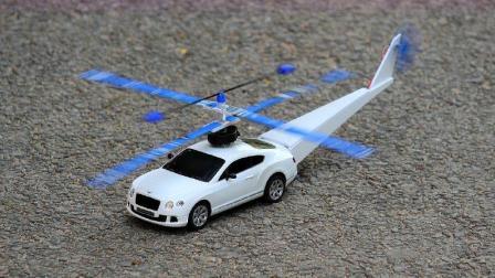 老外将汽车改装成直升机,还能上天的那种,全程高能别眨眼