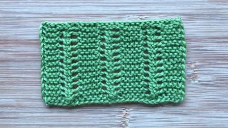 儿童开衫花样的编织方法,简单不单调,很大方,易学易织毛线时尚编织
