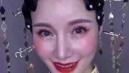 运城临汾叶建美容美发化妆职业培训学校课堂作品