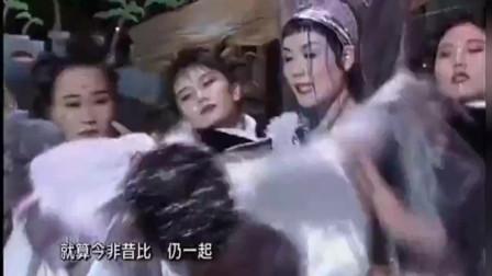 1994香港小姐决赛王菲张学友《Medley》,这么活泼的王菲太罕见了