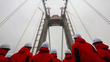 中国又一大桥耗资200亿,使用5万立方米混凝土,主塔高度超200米