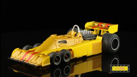 《变形金刚》自制玩具动画特效短片!F1方程式赛车
