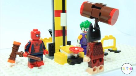 定格动画-乐高超级英雄钢铁侠实验机甲