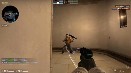 CSGO:杨教授亲传弟子,头一次见电击枪打那么厉害的