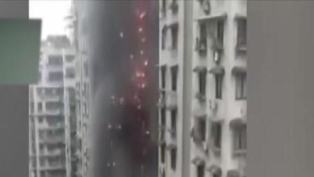 重庆加州花园起火点系培训机构:屋内所有物品全被烧毁