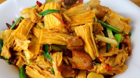 """比肉都好吃的""""烧腐竹"""",很多人不会做,大厨教你详细做法"""