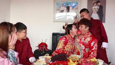 湖北31岁小伙,与小8岁姑娘结婚,彩礼38万,新娘丰满白嫩,新郎有点猥琐,不般配