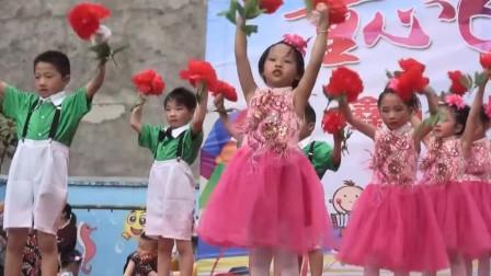 六一儿童节 舞蹈表演《桃花朵朵开》