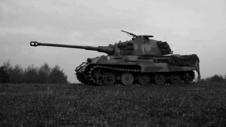 二战时期T34坦克最致命对手德军豹式坦克的出现是苏联人的梦魇