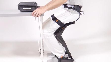 专为工人设计的隐形椅,一键变形,还不占地方