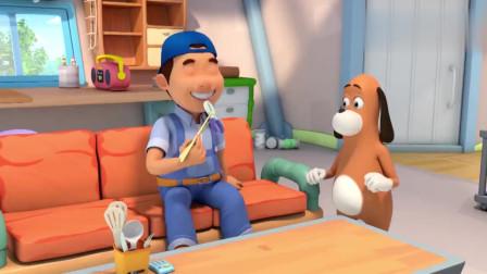 宝宝巴士:道哥把茄子听成了钳子,主人牙齿都掉了好几颗