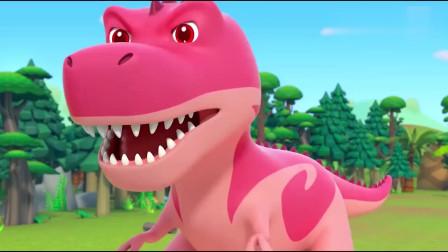 宝宝巴士:怪兽车勇闯恐龙世界,会发生什么有趣的事呢