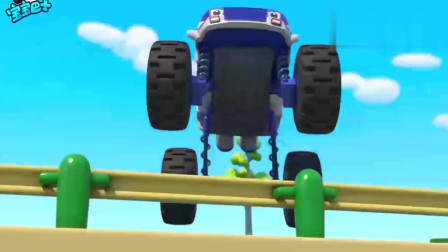 宝宝巴士:怪兽警车,出动吧