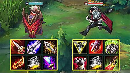 LOL:神装布隆vs神装德莱厄斯,哪个英雄更强?