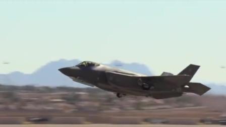 F35A战斗机大过载机动,旱地拔葱直接转垂直俯冲