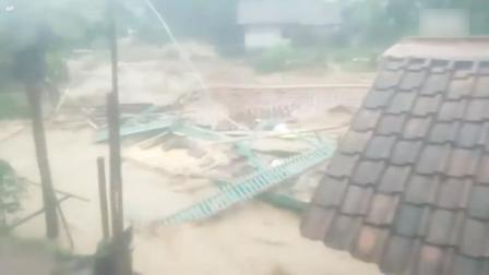 20年来最大持续降雨 印尼雅加达爆发严重洪灾