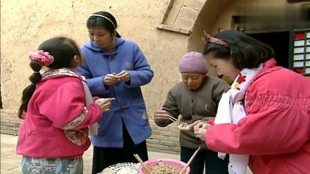 河南乡村的春节记忆,烙油饼、包饺子团圆过大年(1993)