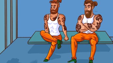 推理动画:哪一个囚犯打算越狱?
