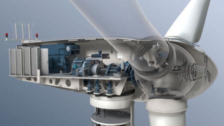 风力发电机转动速度那么慢!为什么发电量巨大?这次真长见识了