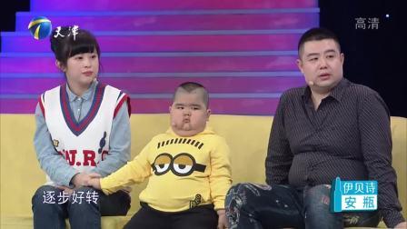 6岁男孩因患病吃激素体重严重超标能说会道拥有90万粉丝