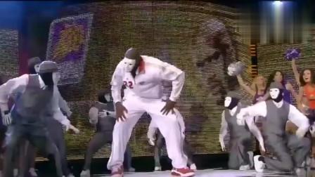 """""""大鲨鱼""""奥尼尔不打篮球爱跳舞,机械舞跳的太给力!"""