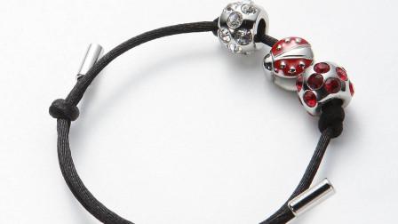 十二星座专属的小仙女手链,狮子座的瓢虫非常可爱