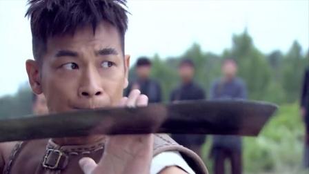 铁血红安:八路训练大刀,旁边的土匪看不下去,当场演示绝世刀法