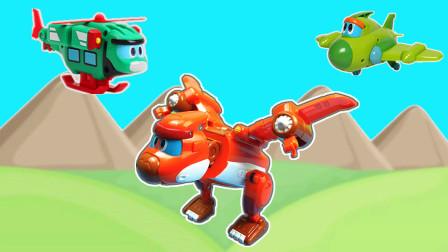 帮帮龙出动恐龙探险队第5季玩具风神翼龙