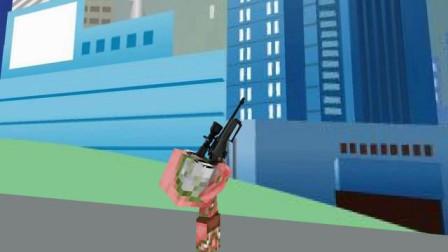 我的世界动画-怪物幼儿园-子弹先生-MechanicZ BABY Monsters