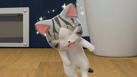 甜甜私房猫:噢,小奇,你怎么晕了