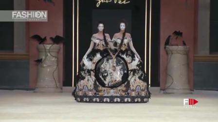 鬼才设计师,这裙子一个人怎么穿,看的都瘆得慌!