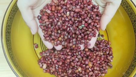 红豆最好吃的做法,简单几步,香甜绵软,学会可以做各种馅料